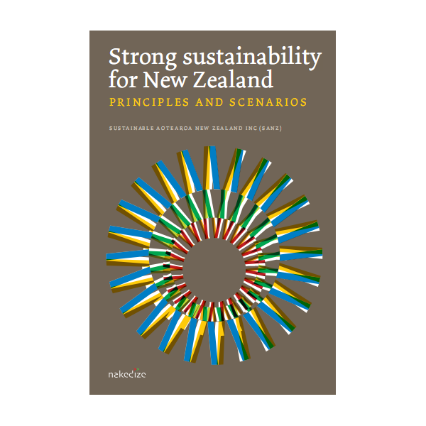 Strong Sustainability for New Zealand cover