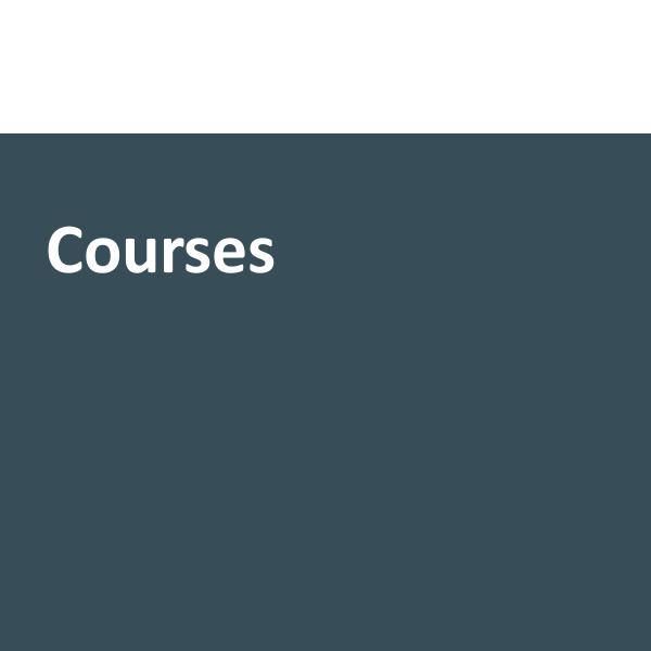 Public courses category