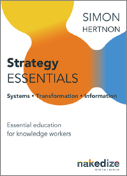 Strategy Essentials book cover mockup