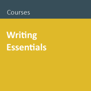 Writing Essentials public course Auckland