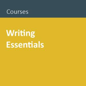Writing Essentials public course Auckland