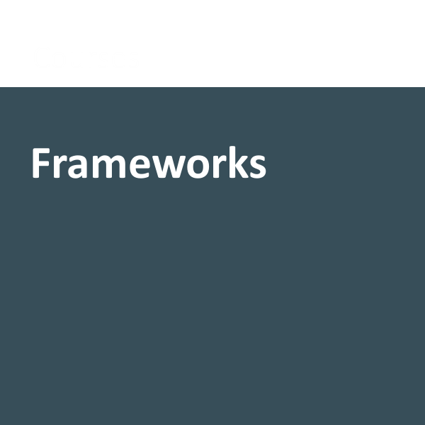 Frameworks category
