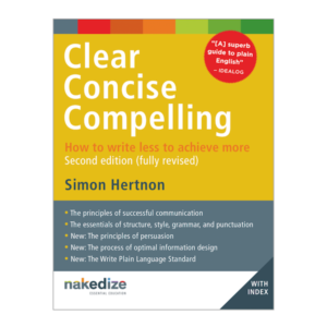 Cover of Clear Concise Compelling 2ed